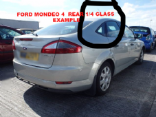 FORD MONDEO MK 4   REAR   VENT    WINDOW / GLASS  DRIVERS  SIDE  OSR  2008 - 2012 REG HATCHBACK